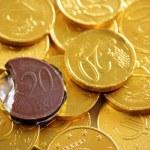 Golden coins — Stock Photo #5874215