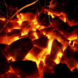 Hot Coals - Stock Photo