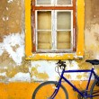 Bike Window — Stock Photo