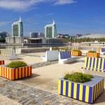 Modern Urban Park — Stock Photo
