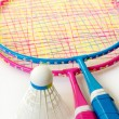 Badminton - Stock Photo