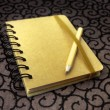 Royalty-Free Stock Photo: Closed Notebook