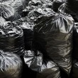 Stock Photo: Garbage bags