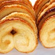 Palmier cookies - Stock Photo