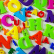 Toy Letters - Stock Photo
