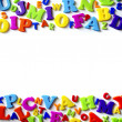 Letters Background — Stockfoto #5874554