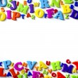 Stockfoto: Letters Background