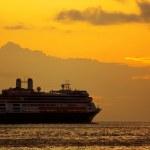 Sunrise Cruise — Stock Photo