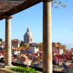 Лиссабон вид — Стоковое фото