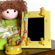 Child Photo Frame - Stock Photo