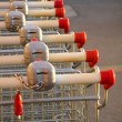 Supermarket Karts — Stock Photo #5874881