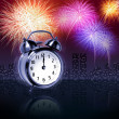 Newyear fireworks - Stockfoto