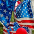 Stock Photo: USA balloons