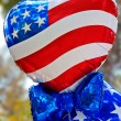 USA balloons - Foto Stock
