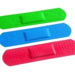 Colorful Bandages — Stock Photo #5874949