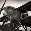 Biplane - Stock Photo