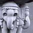 Hindu Sculpture - Stock Photo
