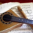 Stock Photo: Mandolin and Flute