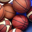 Basket Balls - Stock Photo