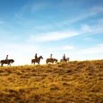 Постер, плакат: Horseback riding