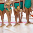 Gymnastics Team — Stock Photo