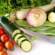 Fresh Vegetables - Stock Photo