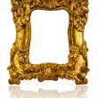 Golden Frame — Stockfoto