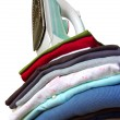 Iron on Clothes — Stock Photo