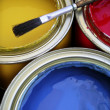 Paint Cans - Foto de Stock  