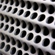 Metallic grid - Stock Photo