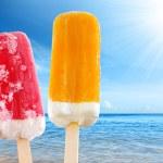 due gelati — Foto Stock