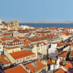 Lisbon Panorama — Stock Photo