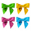 Four Bows — Stock Photo