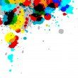 Paint Splash - Stock Photo