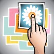 Touch Screen - Foto Stock