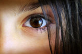 Childs eye — Foto de Stock