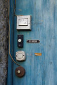 Staré dveře zvony — Stock fotografie