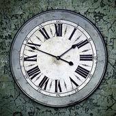 Grungy Clock — Stock Photo