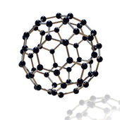 Floating Molecule — Stock Photo