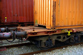 Train Containers — Stock Photo