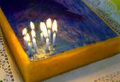 Verjaardagscake — Stockfoto