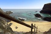 Escaliers vers la plage — Photo