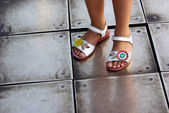 Children Sandals — Stock Photo