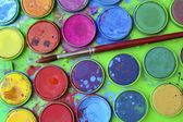 Watercolor Palette — Stock Photo