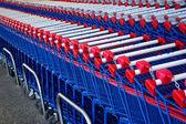 Shopping Karts — Stock Photo