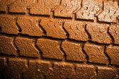 Muddy Tire — Stock Photo
