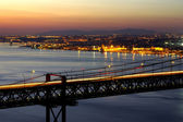 Bridge Over Tagus — Stock Photo