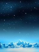 Céu estrelado — Foto Stock