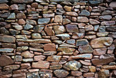 Rustic Stone Wall — Stock Photo