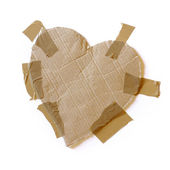 Taped Heart — Stock Photo